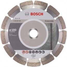 Алмазный диск Bosch Standard for Concrete 180-22,23 мм (2608602199) 360.00 грн