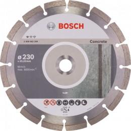 Алмазный диск Bosch Standard for Concrete 230-22,23 мм (2608602200)
