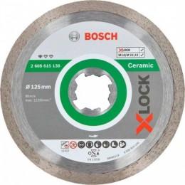 Круг алмазный Bosch X-Lock Standard for Ceramic 125x22,23x1,6x7 мм (2608615138)
