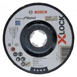 Круг обдирочный Bosch X-Lock Expert for Metal 125x6x22.23 мм (2608619259)