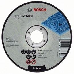 Круг отрезной Bosch Standard for Metal, 125×1,6 мм (2608603165)