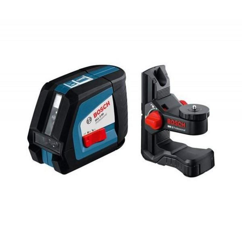 Линейный лазерный нивелир (построитель плоскостей) Bosch GLL 2-50 + BM1 + LR2 в L-Boxx 13042.00 грн
