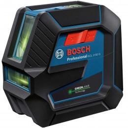 Лазерный нивелир Bosch GCL 2-50 G Professional в чемодане с держателем RM 10, зажимом DK 10, чехлом, мишенью (0601066M02) 11791.00 грн