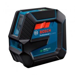 Лазерный нивелир Bosch GLL 2-15 G Professional с держателем LB 10, мишенью (0601063W00)