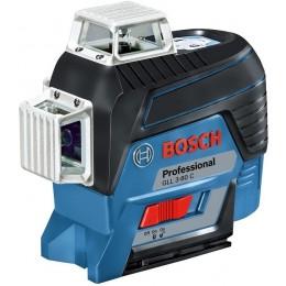 Лазерный нивелир Bosch GLL 3-80 C (AA) + вкладка для L-boxx (0601063R00)
