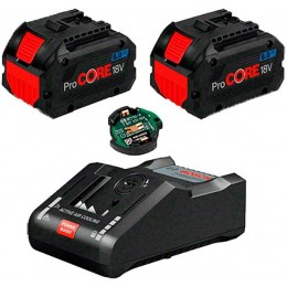 Набор аккумуляторов Bosch 2x ProCORE18V 8.0 Aч + GAL 18V-160 C (1600A016GP)