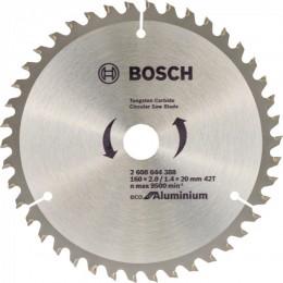 Пильный диск Bosch ECO ALU/Multi 160x20/16 42 зуб. (2608644388)
