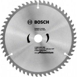 Пильный диск Bosch ECO ALU/Multi 190x20/16 54 зуб. (2608644390)