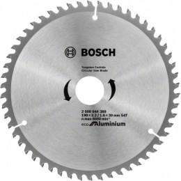 Пильный диск Bosch ECO ALU/Multi 190x30 54 зуб. (2608644389)
