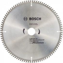 Пильный диск Bosch ECO ALU/Multi 254x30 96 зуб. (2608644395)
