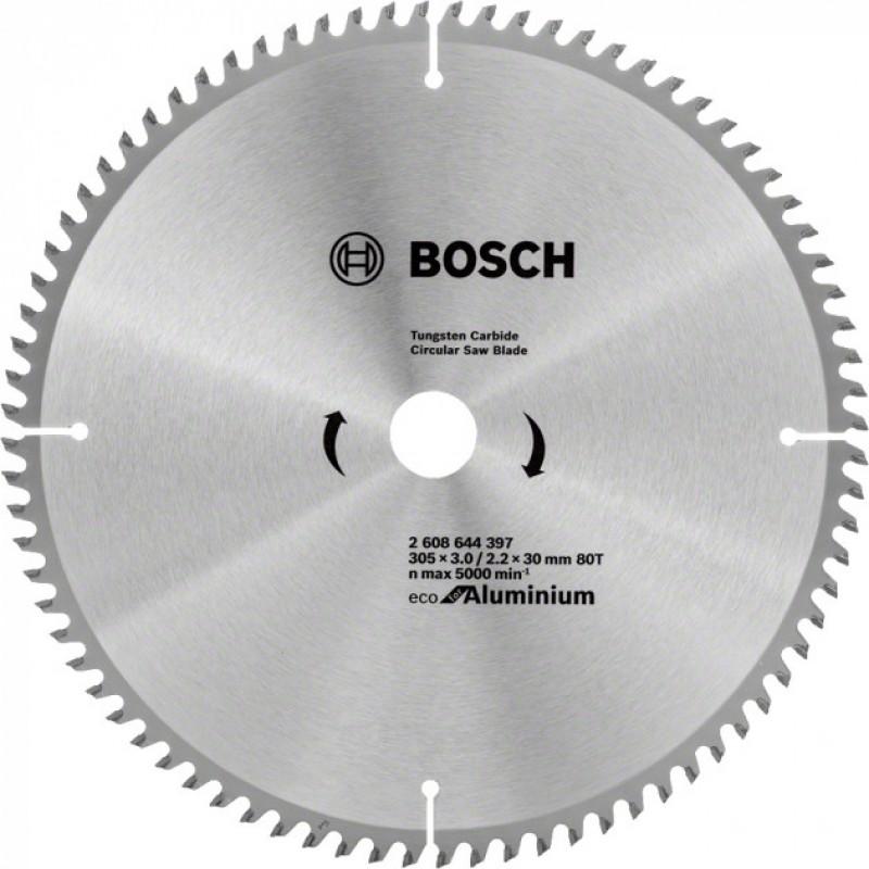 Пильный диск Bosch ECO ALU/Multi 305x30 80 зуб. (2608644397) 994.00 грн