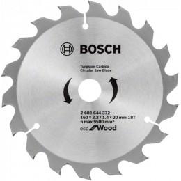 Пильный диск Bosch ECO WO 160x20/16 18 зуб. (2608644372)