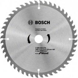 Пильный диск Bosch ECO WO 190x20/16 48 зуб. (2608644378)