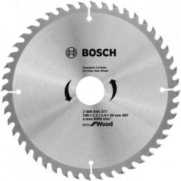 Пильный диск Bosch ECO WO 190x30 48 зуб. (2608644377)