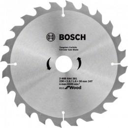 Пильный диск Bosch ECO WO 230x30 24 зуб. (2608644381)