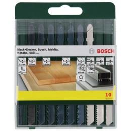 Набор пильных полотен Bosch Promoline, 10 шт (2607019461) 228.00 грн