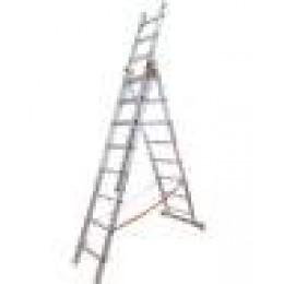 Лестница универсальная BUDFIX 01411 (3х11) (62194)