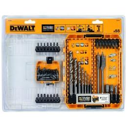 Набор универсальный DeWALT, 56 шт, кейс Tough Case (DT70757)