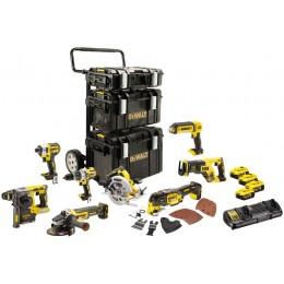 Набор из восьми инструментов бесщеточных DeWALT DCK853P4 74199.00 грн
