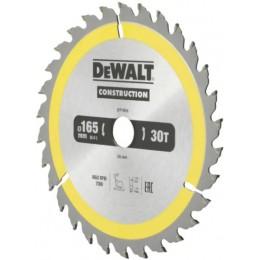 Диск пильный DeWALT CONSTRUCTION DT1935, 165х20 мм, 30z