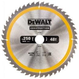 Диск пильный DeWALT CONSTRUCTION DT1957, 250х30 мм, 48z