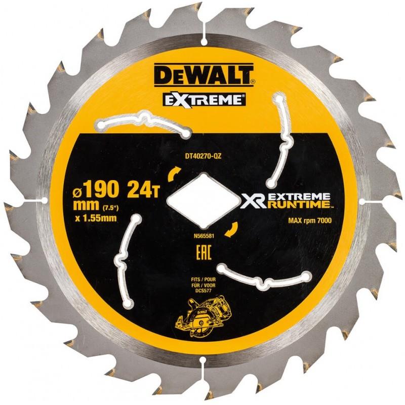 Диск пильный DeWALT XR Flexvolt Extreme c ромбовидной посадкой DT40270 568.00 грн