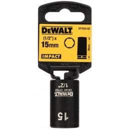 Головка торцевая ударная DeWALT IMPACT, 15 мм (DT7533) 115.00 грн
