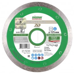 Алмазный диск Distar 1A1R 125x1,5x8x22,23 Granite Premium (11315061010) 399.00 грн