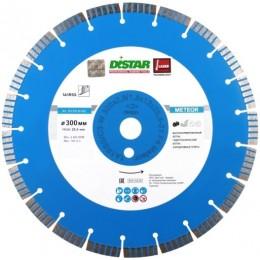 Алмазный диск Distar 1A1RSS/C3-W 300x2,8/1,8x12x25,4-21 F4 Meteor (12327055022)