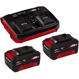 Зарядное устройство Einhell Twincharger Kit 2x 3,0Ah (4512083)