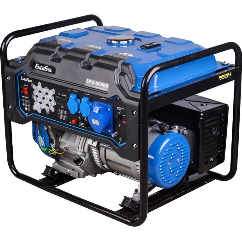 Бензиновый генератор EnerSol EPG-5500S однофазный 19299.00 грн