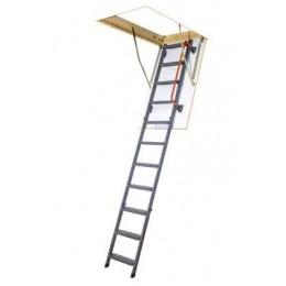 Металлическая чердачная лестница Fakro LMK Komfort 60x120, , 4049.36 грн, Металлическая чердачная лестница Fakro LMK Komfort 60x120, Fakro, Чердачные лестницы