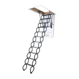Металлическая чердачная лестница Fakro LST 60x120, , 5689.88 грн, Металлическая чердачная лестница Fakro LST 60x120, Fakro, Чердачные лестницы
