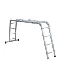 Лестница шарнирная FORTE АО52-404 (4х4) (32391)