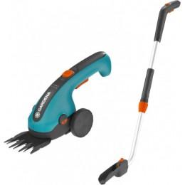 Ножницы для газонов аккумуляторные Gardena ClassicCut на колесиках+ телескопическая ручка (09855-20.000.00)