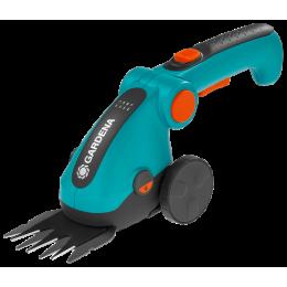 Ножницы для газонов аккумуляторные Gardena ComfortCut Li на колесиках+ телескопическая ручка (09858-20.000.00)