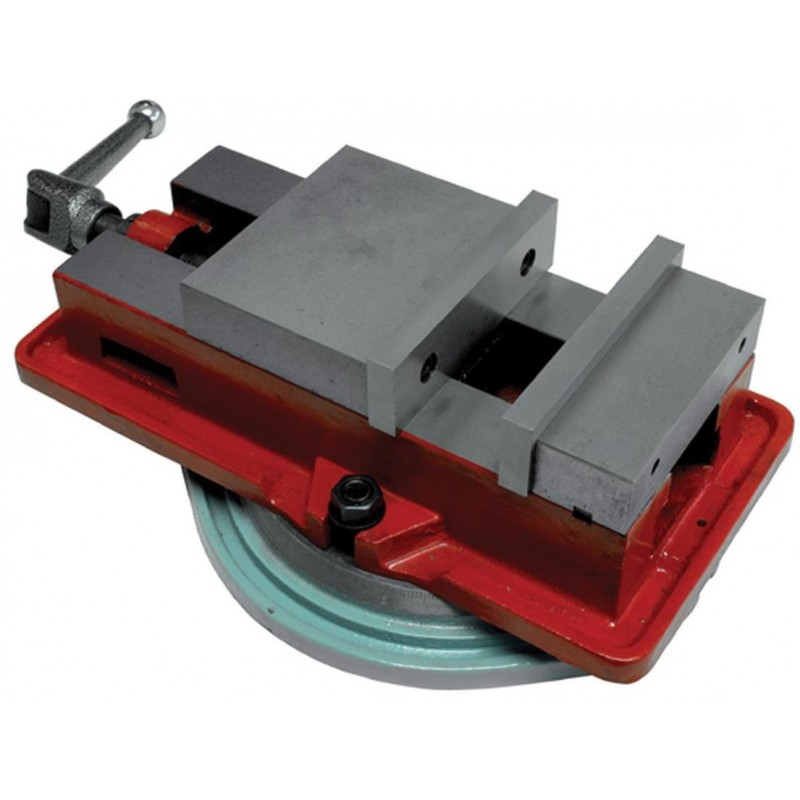 Тиски фрезерные промышленные + поворотное основание Holzmann IF160 6230.00 грн