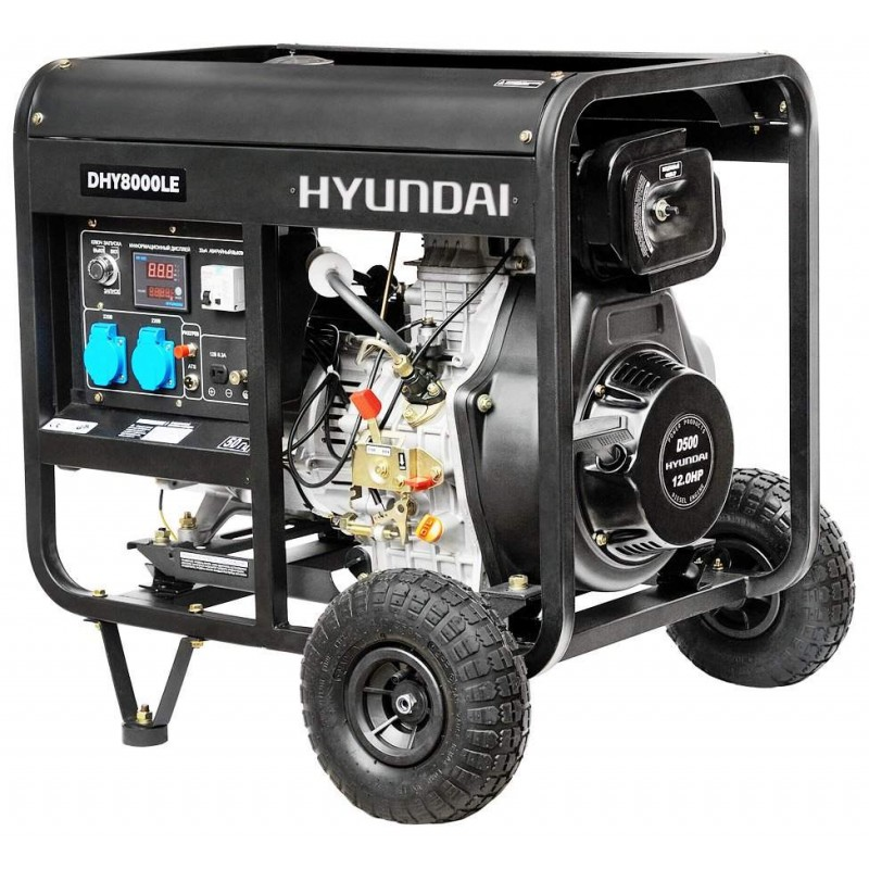 Дизельный генератор Hyundai DHY 8000LE 43188.00 грн