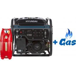 Двухтопливный генератор Hyundai HHY 3050FE LPG