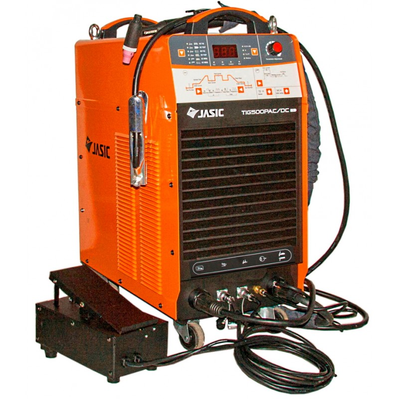 Аппарат аргонодуговой сварки Jasic TIG-500P AC/DC (E312) 113100.00 грн