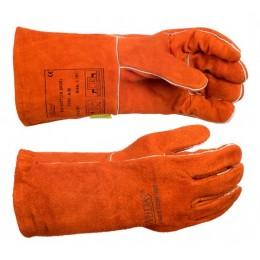 Перчатки сварщика 10-2101, XL, W.10-2101XL, 240.00 грн, Перчатки сварщика 10-2101, XL, ТМ Ally Protect, Перчатки сварщика