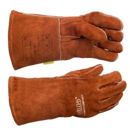 Перчатки сварщика 10-2392, XL, W.10-2392XL, 210.00 грн, Перчатки сварщика 10-2392, XL, ТМ Ally Protect, Перчатки сварщика