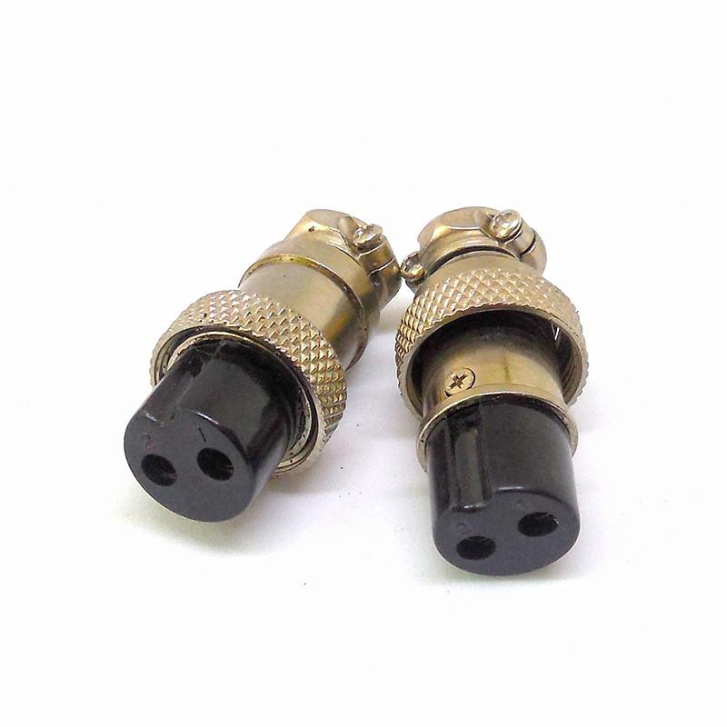 Разъем GX16 кабельный, гнездо, 2pin