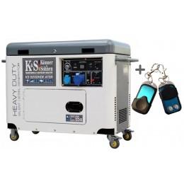 Дизельный генератор Konner&Sohnen KS 9200HDE atsR (EURO V), , 48999.00 грн, Дизельный генератор Konner&Sohnen KS 9200HDE atsR (EURO V), Konner and Sohnen, Дизельные генераторы
