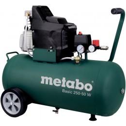 Компрессор Metabo Basic 250-50 W OF (601535000), 601535000, 8349.00 грн, Компрессор Metabo Basic 250-50 W OF (601535000), Metabo, Компрессоры