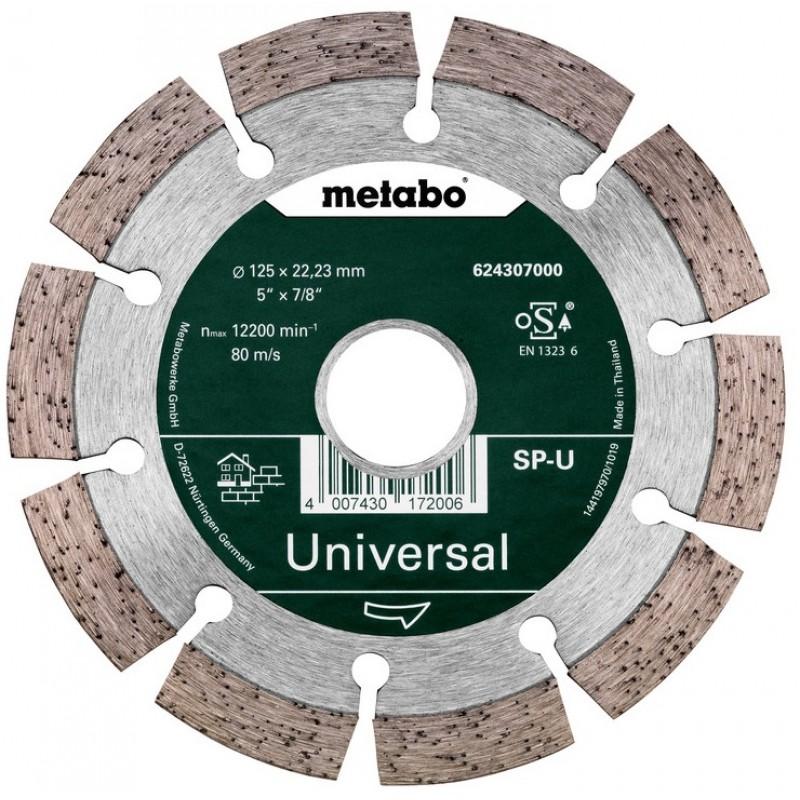 Алмазный отрезной диск Metabo, 125x22.23 мм (624296000) 166.00 грн