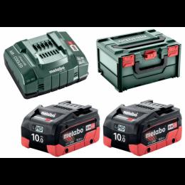 Базовый комплект Metabo LiHD 2x10.0 Ah + MetaBox (685142000) 13261.00 грн