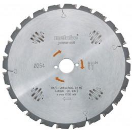 Пильный диск Metabo 190x30, HW/CT 16FZ/FA (628006000)