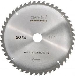 Пильный диск Metabo HW/CT 254x30 48 WZ 5 (628061000)