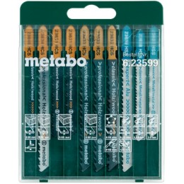 Набор пилочек для лобзика Metabo 10 шт. (623599000) 275.00 грн
